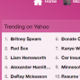 Trending on Yahoo