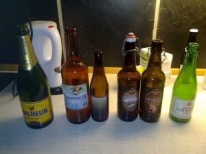 Third and last batch of beers