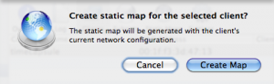 Easy Way to Insert a New MAC to IP Mapping