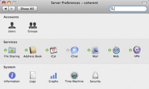 Server Preferences Overview