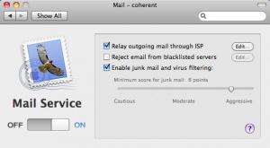 Server Preferences Mail
