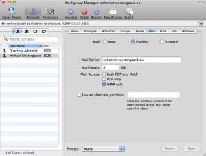 New User Mail Setup