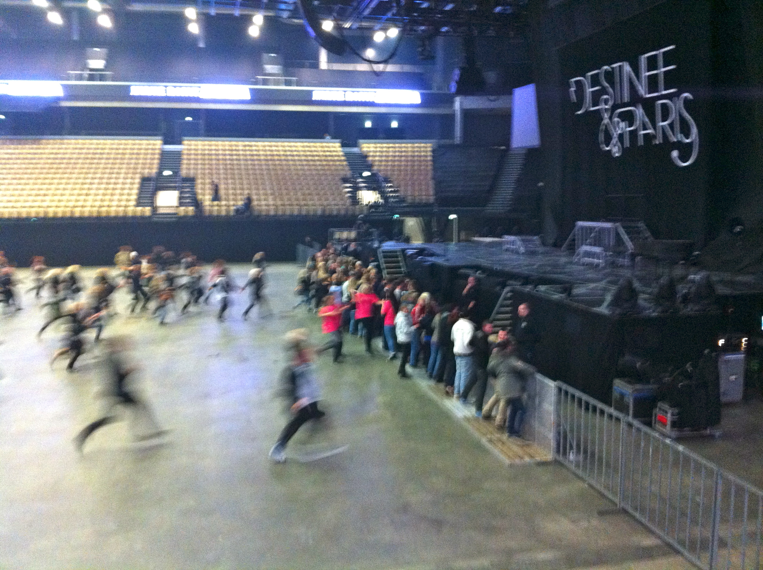 Backstage Before Britney In Herning Interactive Michaelxperience 20